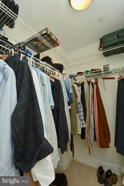 Deep Generous closet space 1 of 2 - 2001 15TH ST N #1203, ARLINGTON