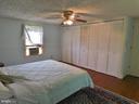 Primary  Closets. Pine Random Width Floors - 420 RUSSELL RD, BERRYVILLE