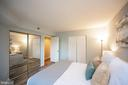 2 large closets - 2400 CLARENDON BLVD #301, ARLINGTON