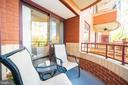 Open air balcony for relaxing - 2400 CLARENDON BLVD #301, ARLINGTON