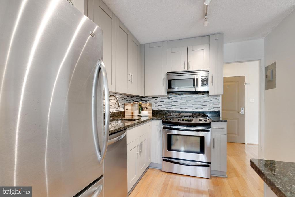 Updated kitchen with SS appliances - 7333 NEW HAMPSHIRE AVE #317, TAKOMA PARK