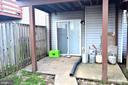 Bottom Floor with walk out Sliding Door - 3636 MCDOWELL CT, DUMFRIES