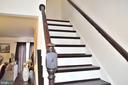 Stairs going to the Bedrooms - 3636 MCDOWELL CT, DUMFRIES