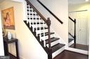 Stairs going to top Level - 3636 MCDOWELL CT, DUMFRIES