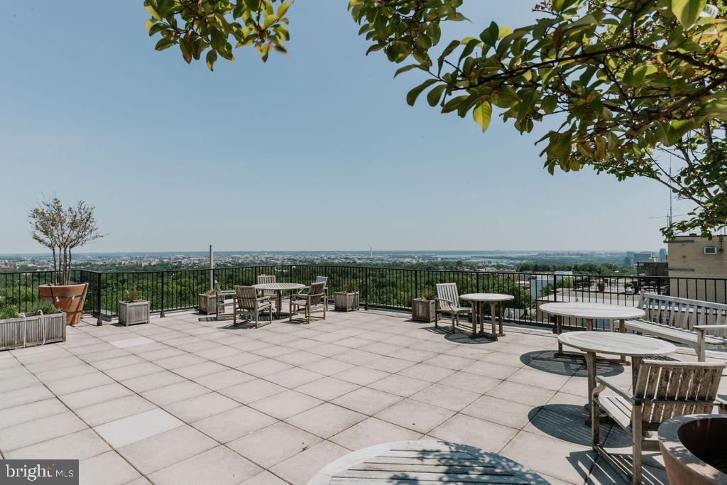 Roof Deck is one floor up from Unit 703! - 2720 WISCONSIN AVE NW #703, WASHINGTON