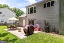Large patio with brick border - 9312 WINBOURNE RD, BURKE