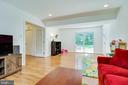 Walkout to patio - 9312 WINBOURNE RD, BURKE
