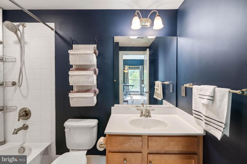 The lower level full bath - 17037 SILVER ARROW DR, DUMFRIES