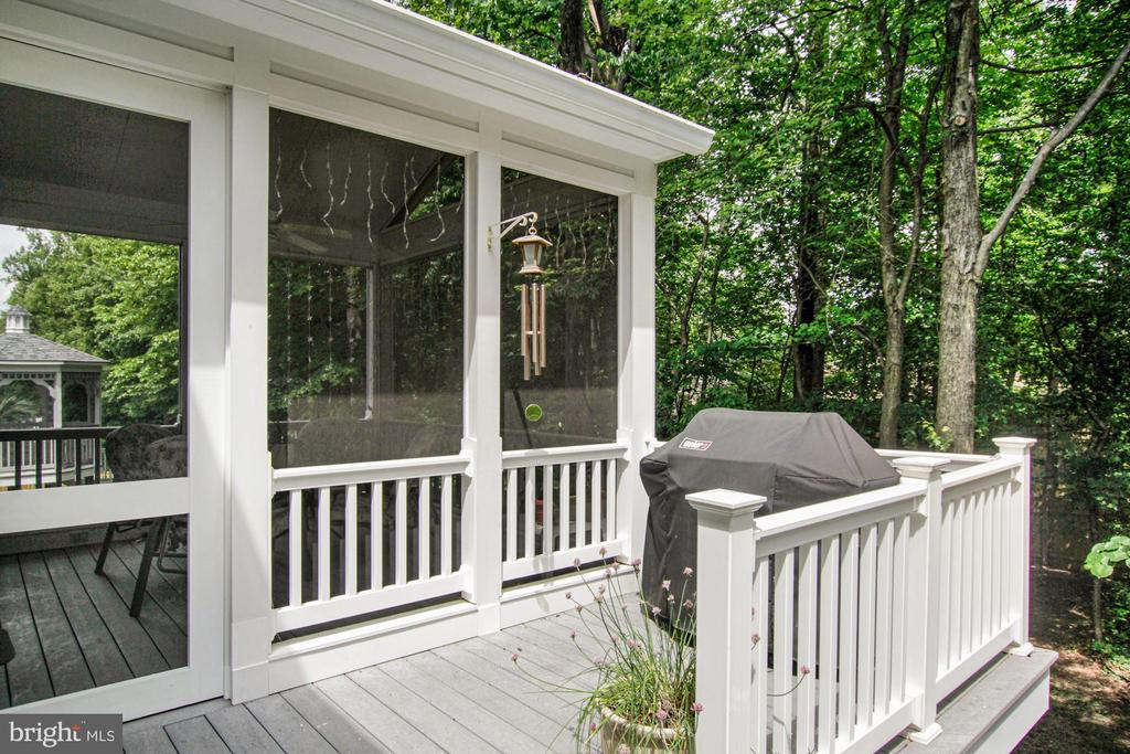 a perfect place for the grill - 1114 HEARTFIELDS DR, SILVER SPRING