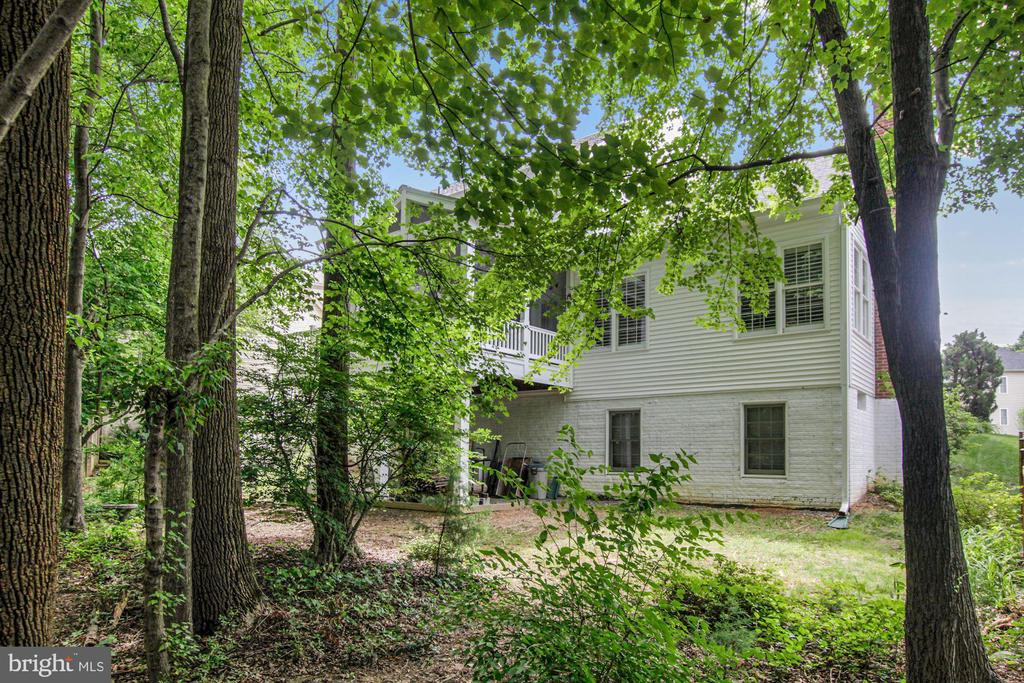 Rear of house. - 1114 HEARTFIELDS DR, SILVER SPRING