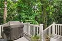 stairs down to the yard - 1114 HEARTFIELDS DR, SILVER SPRING