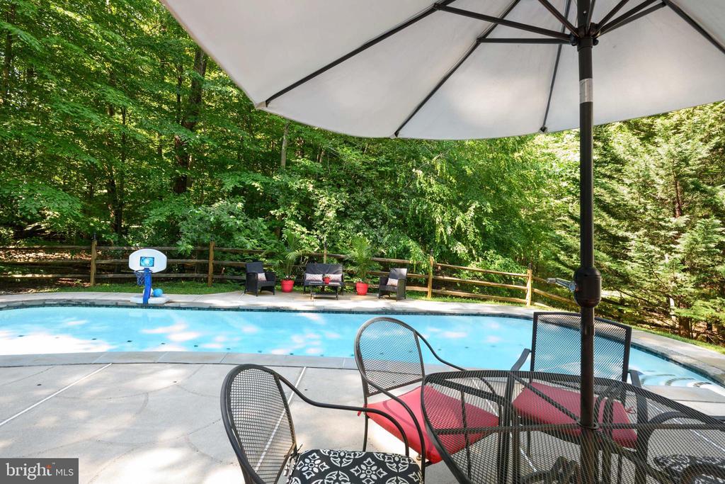 Pool Side - 6191 TREYWOOD LN, MANASSAS