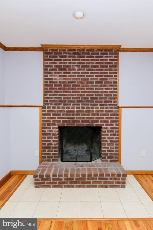 Fireplace - 15605 KELBAUGH RD, THURMONT