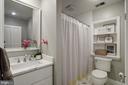 Shared upper bath renovated 2021 - 8622 GARFIELD ST, BETHESDA