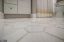 Enjoy trend-right honeycomb tile - 8622 GARFIELD ST, BETHESDA