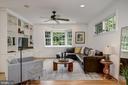 Family room boast natural light - 8622 GARFIELD ST, BETHESDA