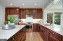 Kitchen has all S/S appliances - 8622 GARFIELD ST, BETHESDA