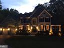 Front of Home at Twilight - 6191 TREYWOOD LN, MANASSAS