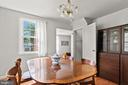 Plenty of room for a sizable table and cabinet. - 2915 MONROE PL, FALLS CHURCH