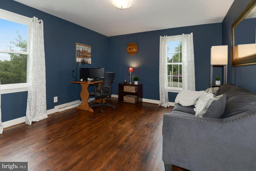 Bedroom #2 with Hardwood Floors - 17516 HARMONY CHURCH RD, HAMILTON