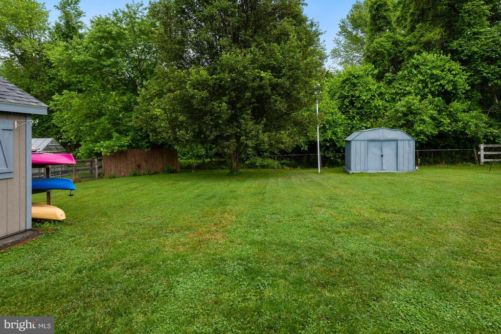 Shed #2 at back of lot with Electricity - 17516 HARMONY CHURCH RD, HAMILTON