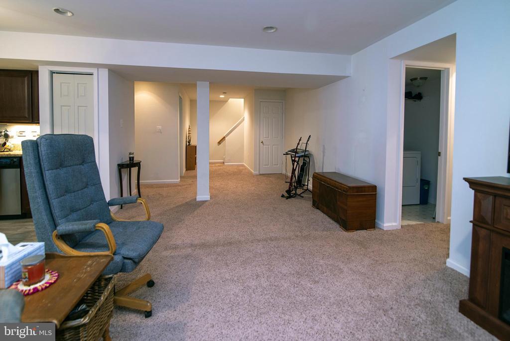 Fuklly finished basement - 53 CARRIAGE HILL DR, FREDERICKSBURG