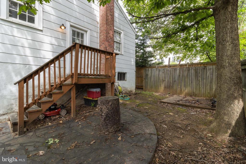 Backyard - 1701 N RANDOLPH ST, ARLINGTON