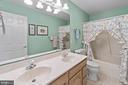 Full Hall Bath with double vanity - 200 AUTUMN SKY TER, WOODSBORO