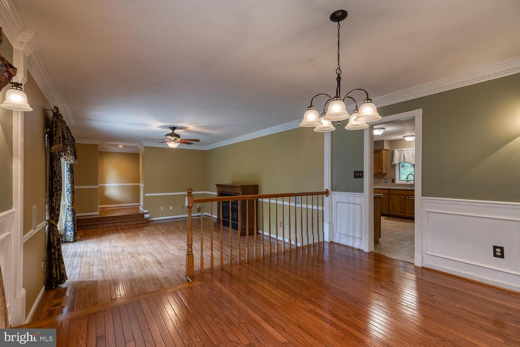 Connecting family/dining room - 710 WIDEWATER RD, STAFFORD