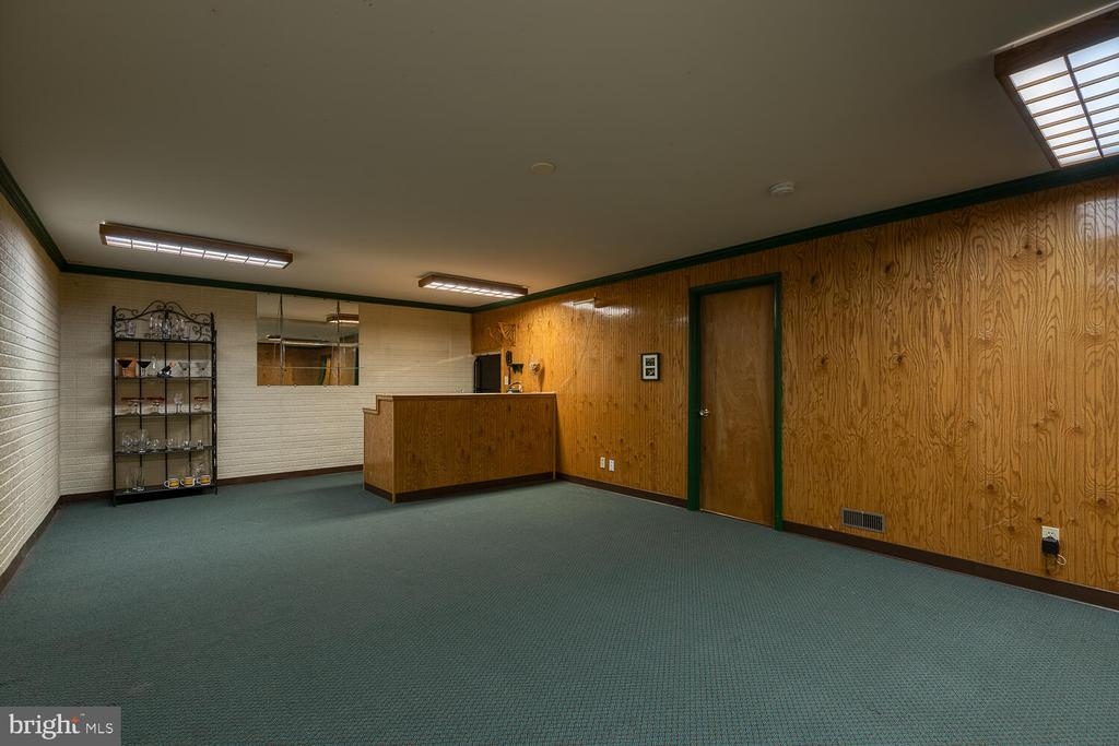 Finished basement bar/rec room - 710 WIDEWATER RD, STAFFORD