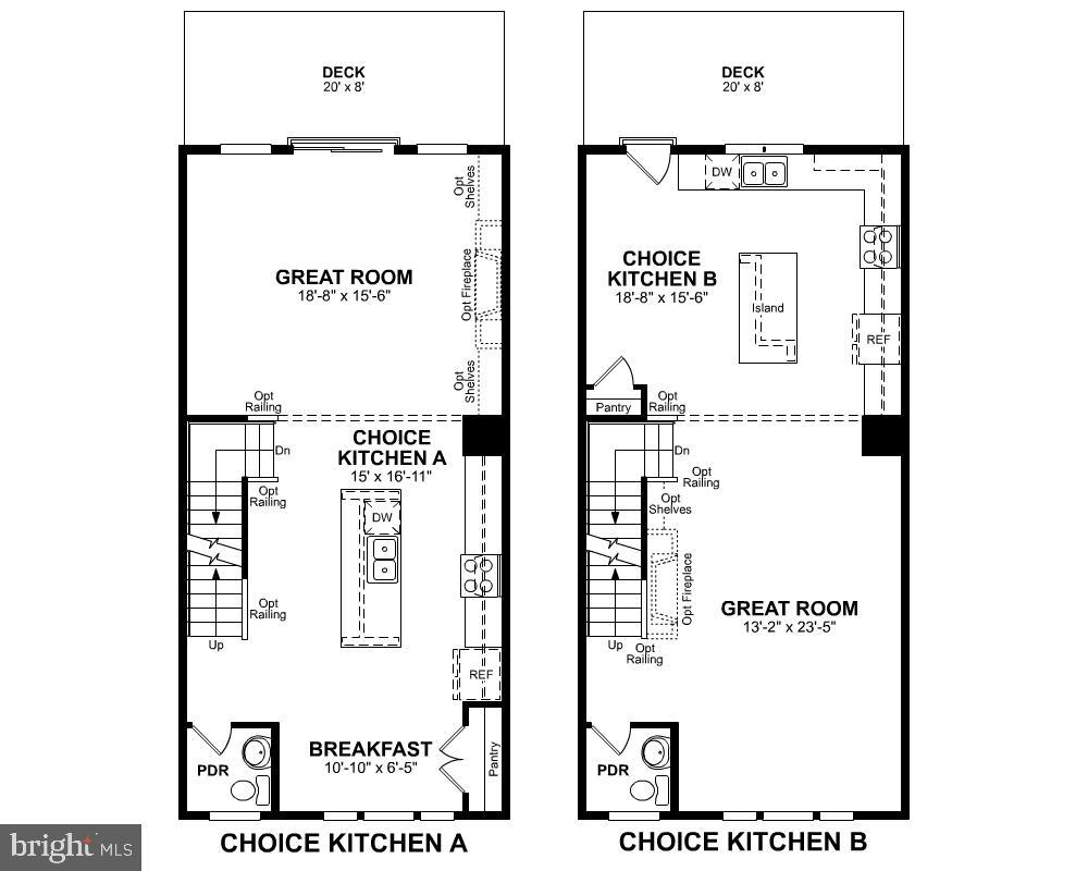 Second Level Floor Plan (Choices) - 1234 MEADOWLARK GLEN RD, DUMFRIES