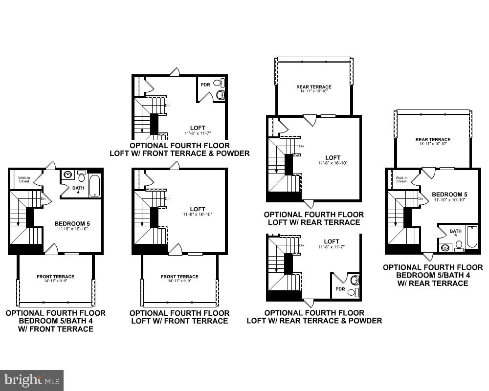 Fourth Level Floor Plan - 1234 MEADOWLARK GLEN RD, DUMFRIES