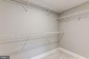 Walk-in Closet - 1234 MEADOWLARK GLEN RD, DUMFRIES