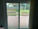 View from Family room - 53 EUSTACE RD, STAFFORD