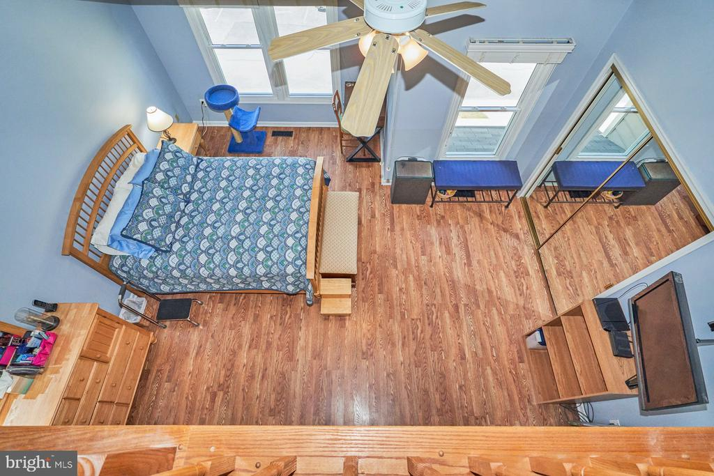 View of Primary bedroom from lost - 7937 BLUE GRAY CIR, MANASSAS