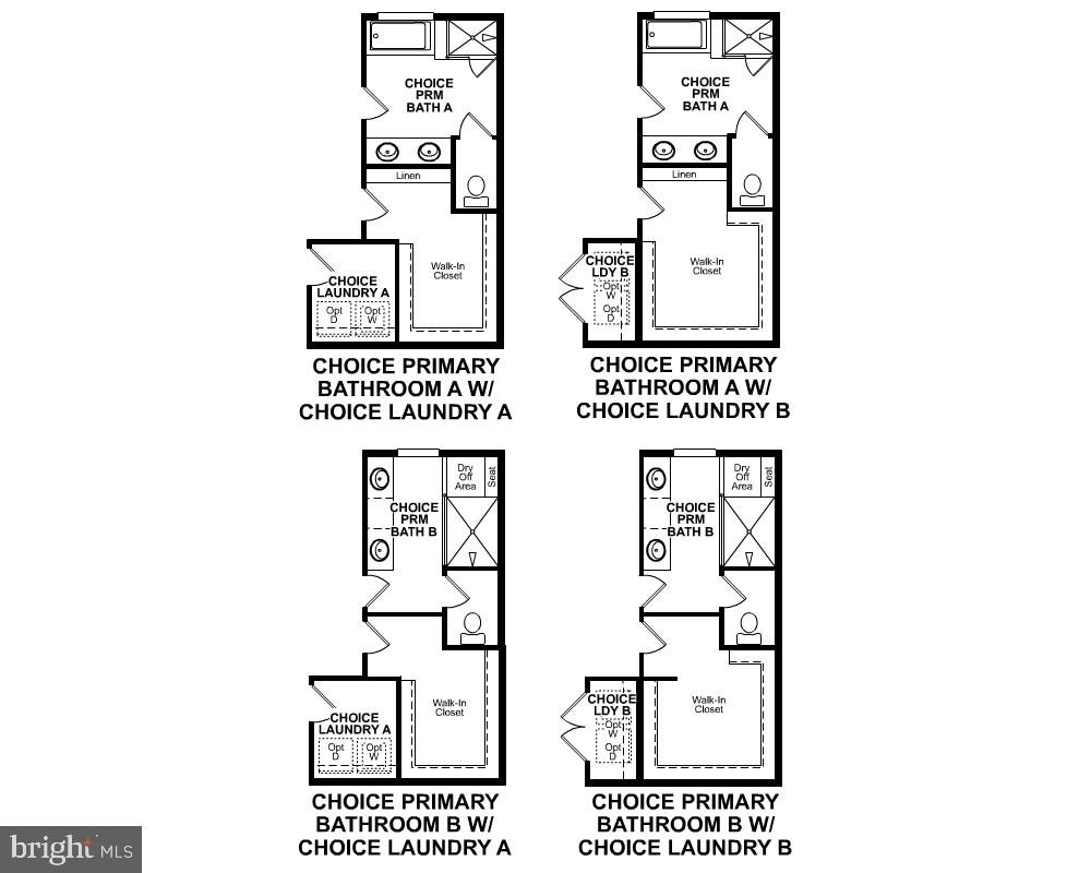 Third Level Floor Plan (Choices) - 3456 MEADOWLARK GLEN RD, DUMFRIES