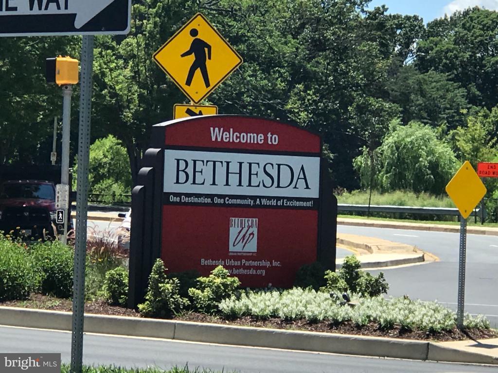 Downtown Bethesda & Metro steps away - 7907 GLENBROOK RD, BETHESDA