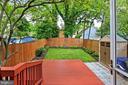 Inviting Treed Back Yard - 2029 S OAKLAND ST, ARLINGTON