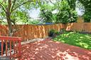 Deck is Great for Entertaining - 2029 S OAKLAND ST, ARLINGTON