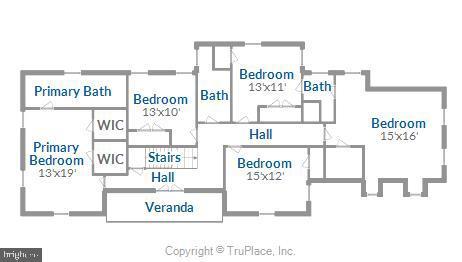 Upper level 1 floorplan - 900 MCCENEY AVE, SILVER SPRING