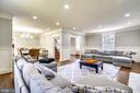 Fresh paint and recessed lighting - 900 MCCENEY AVE, SILVER SPRING