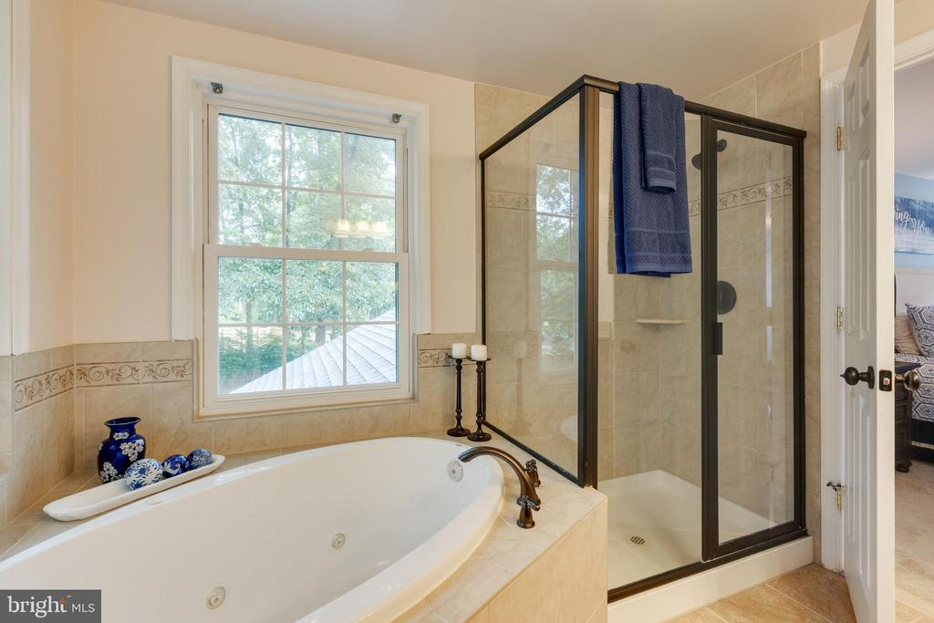 Primary Bathroom with jetted tub - 4290 CANDLESTICK CT, DUMFRIES