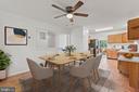 Kitchen/Breakfast Room View - 11300 LINKS CT, RESTON