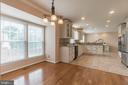 Large space for kitchen table - 133 NORTHAMPTON BLVD, STAFFORD