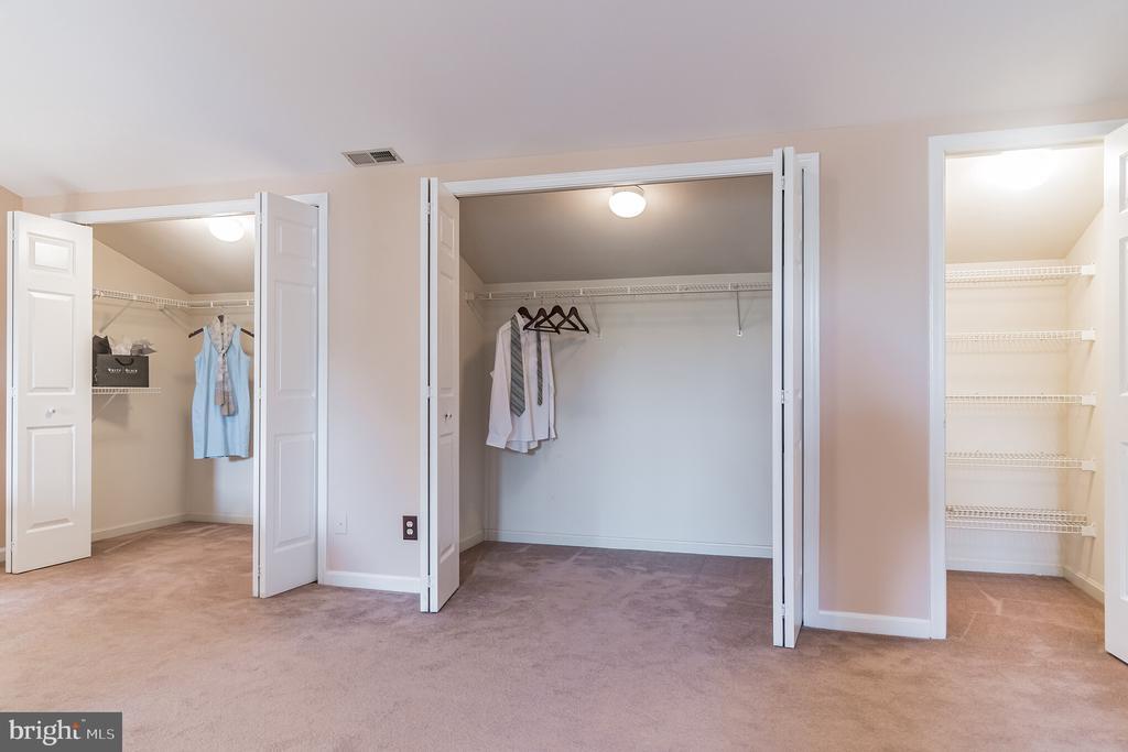 Multiple closets - 133 NORTHAMPTON BLVD, STAFFORD