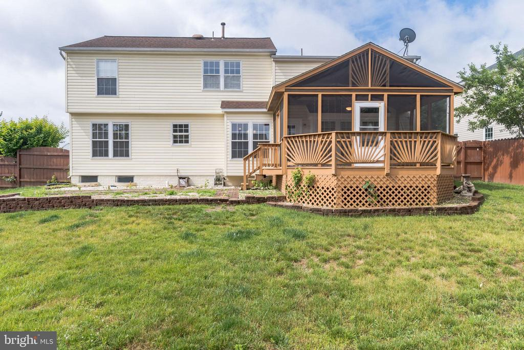 Great outdoor space for entertaining - 133 NORTHAMPTON BLVD, STAFFORD