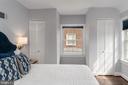 Bedroom with hardwood floors - 2740 S TROY ST, ARLINGTON