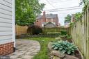 Rear patio and back yard - 2740 S TROY ST, ARLINGTON