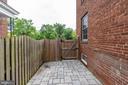 Side patio area - 2740 S TROY ST, ARLINGTON