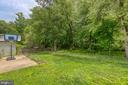 Fully fenced back yard. - 7420 LAURA LN, FREDERICKSBURG